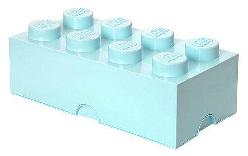 Room Copenhagen RC40041742 Lego Storage Brick 8er aqua