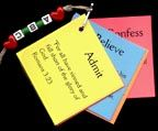 sunday school ABC Steps Bible verse key chain bible  craft for kids