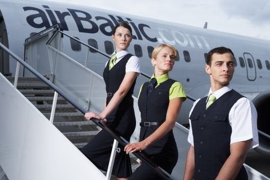 Image result for airbaltic cabin crew