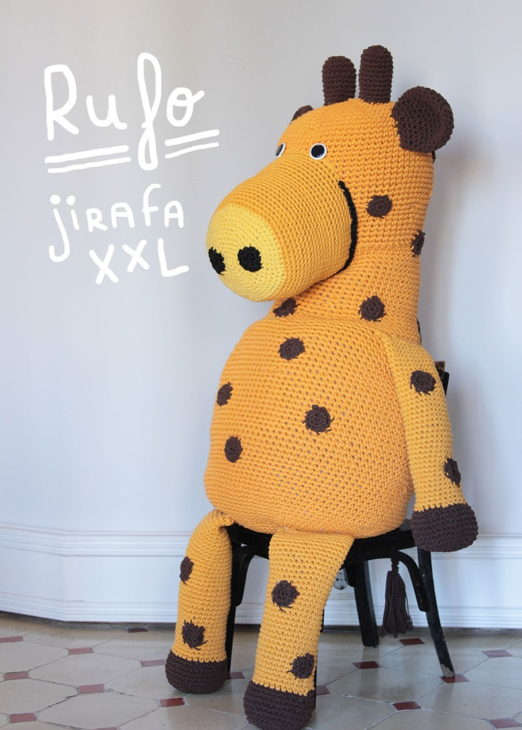 Amigurumi Xxl Libro : 17 Best images about Amigurumi XXL on Pinterest Trapillo ...