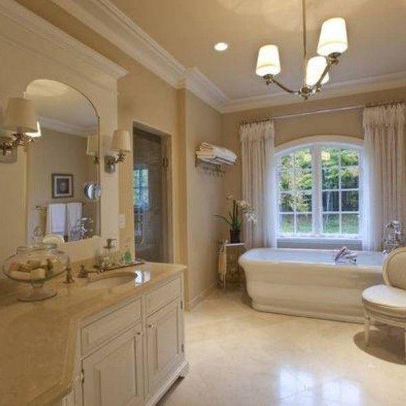 Relaxing Bathroom Color Bathroom Pinterest Master