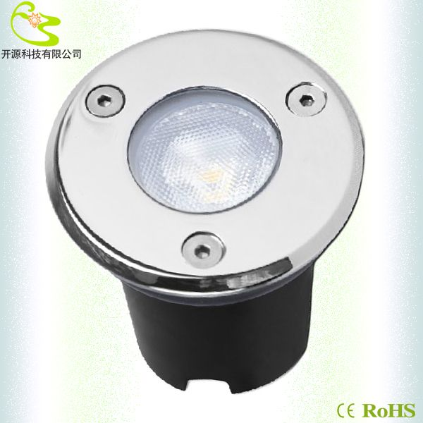 1w led underground spot light ip67 sealing glue waterproof deck lamp100lm ac85265v led garden