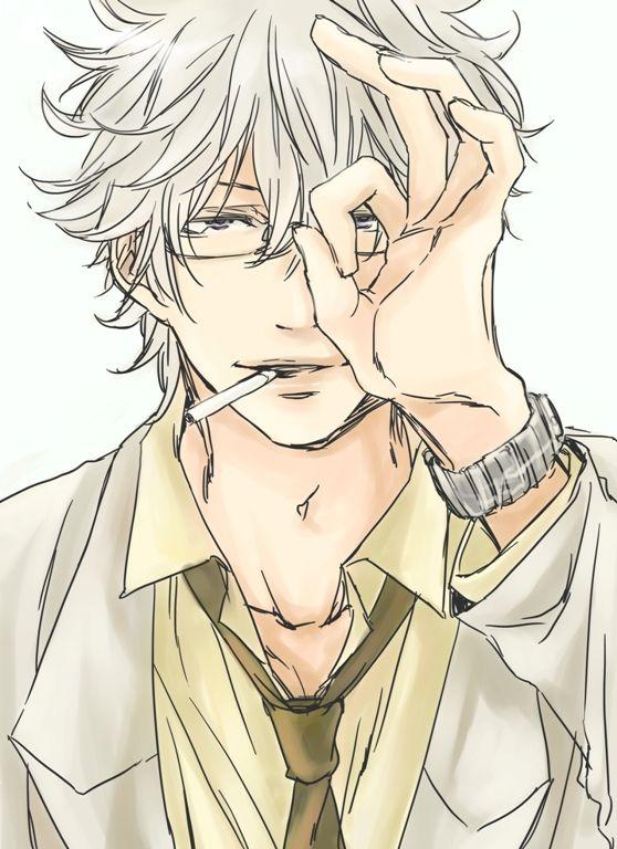 me,Ginpachi-sensei