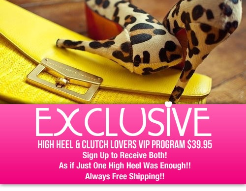 As If One High Heel is enough! (Laughing) Introducing www.ClassyChickClothingOnline.com   EXCLUSIVE! High Heel & Clutch Handbag VIP Program… For More Information Check Out The Section: http://www.classychickclothingonline.com/vip-shoes/Vip Programs, Handbags Vip, Neat Things, Fashion Quotes, High Heels, Items Arrival, Clutches Handbags