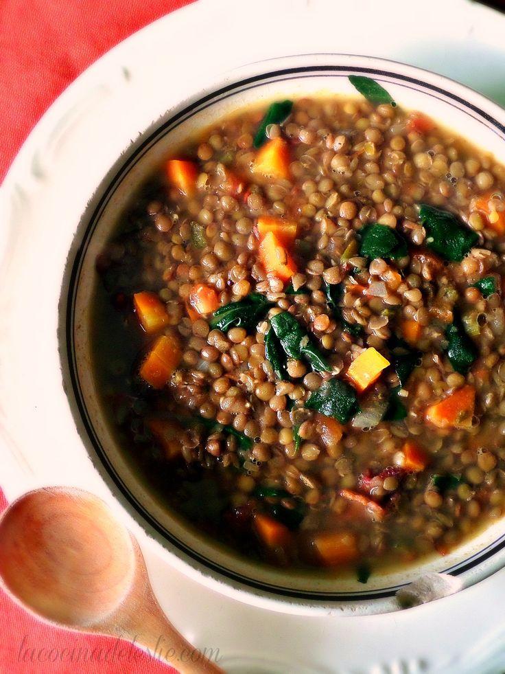 Sopa de Lentejas (receta en español)