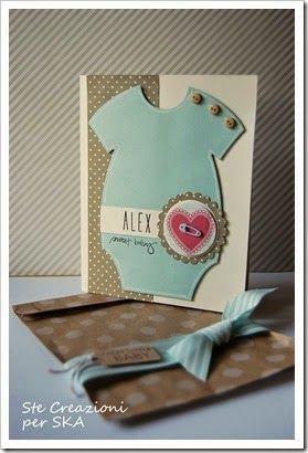 Card nascita - Ste creazioni