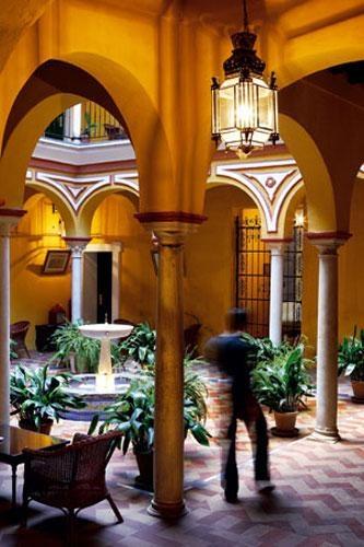 The interiors of Hotel Las Casa de la Juderia..... LOVED this place.  LOVE Seville!