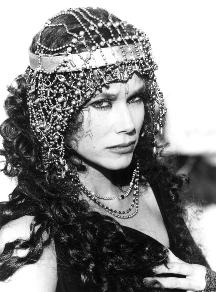 "Barbara Hershey en ""La última tentación de Cristo"" (The Last Temptation of Christ), 1988"