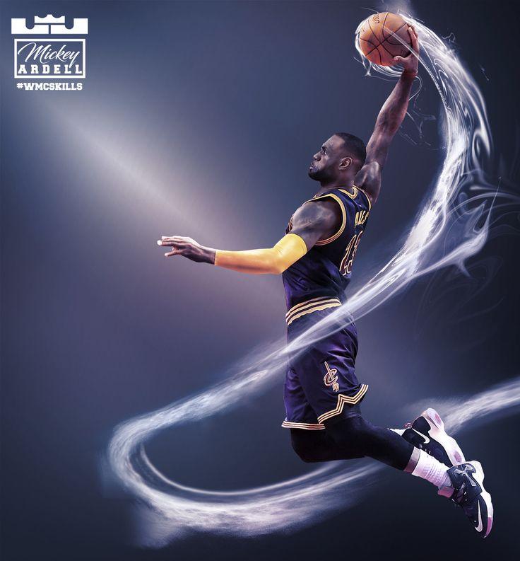 Lebron James. Cleveland Cavaliers #wmcskills