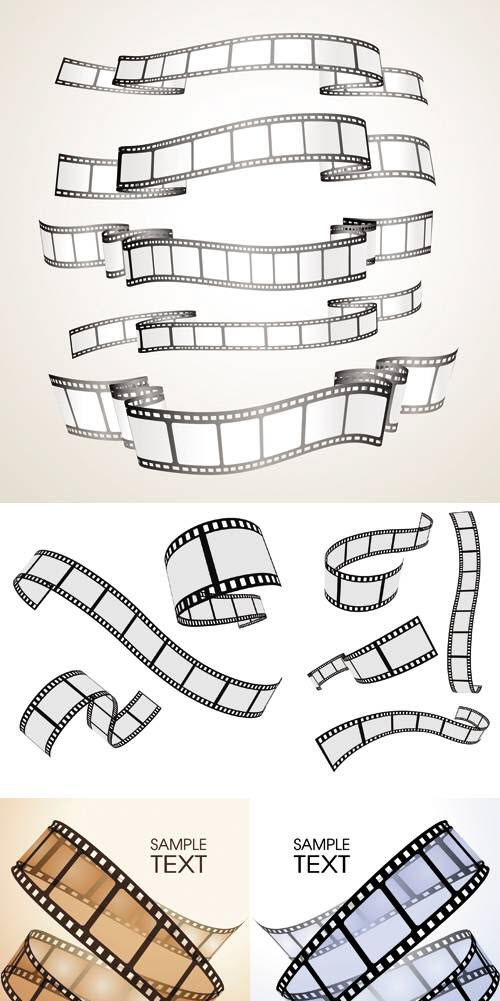 Life is like film, you develop from the negatives. Film strip.