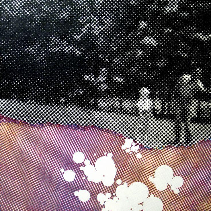 2008 .spostrzegawczosc 150x150cm. akryl/bawełna. sygnowany.kolekcja prywatna