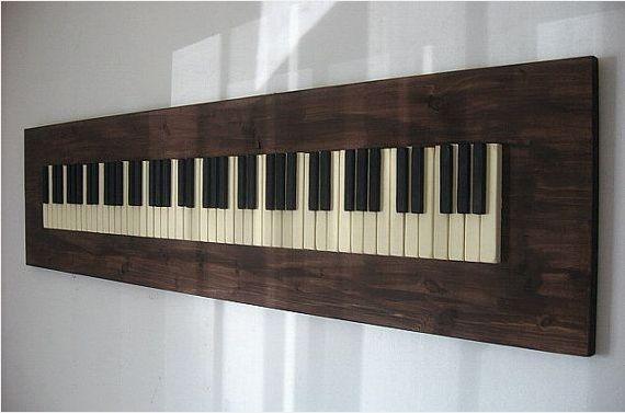 upcycled piano keys - Google Search