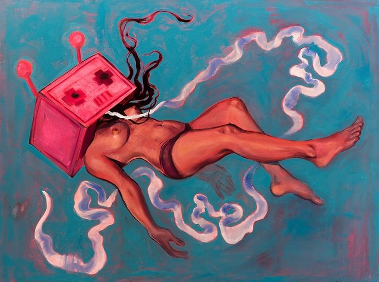supersonicelectronic: Lauren YS. Paintings and... | AFA - art for adults