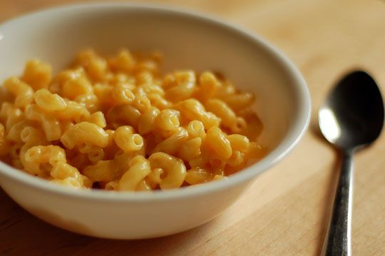 One-bowl microwave Macaroni and Cheese