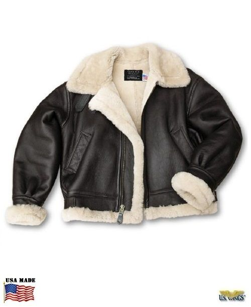 f177bf9872 Our B-3 Shearling Bomber jacket is THE classic WWII sheepskin Nappa leather Bomber  jacket! The B3 flight jacket is classic
