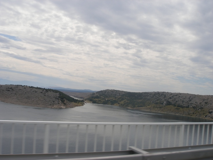 Connecting bridge from #krk to #crikvenica
