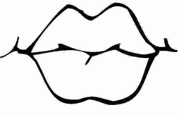 Kissing Lip Coloring Pages Coloring Pages Lips Printable Detailed Coloring Pages