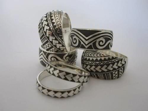 Polynesian Rings Accesories Polynesian Wedding Samoan