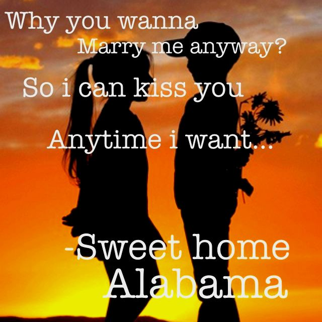 Sweet home alabama :)