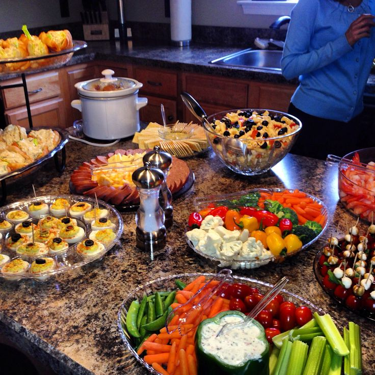 17 Best Ideas About Baby Shower Lunch On Pinterest