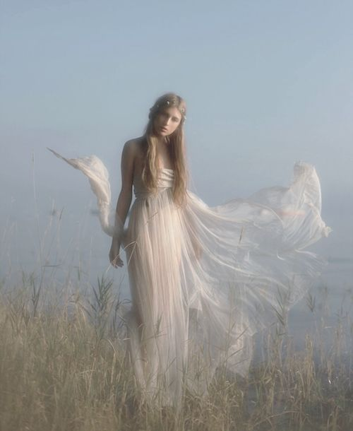 Enchanted lady.: Angel, Dream, Art, Wedding Dress, Lake, Fairytale, Photography, Vivienne Mok