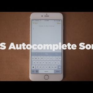 The Newest iOS Can Try to Predict What Youre About to Typeso Here it is Writing a Song -