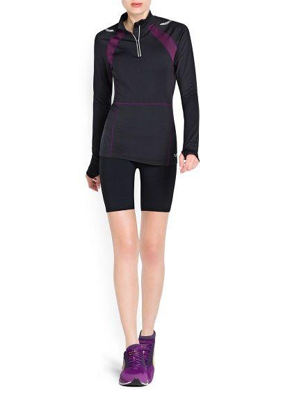 Fitness Running - Motion stretch t-shirt http://#Sport http://#Mango http://#New