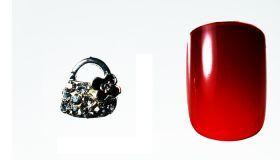 FF Nail Art Kit Κόσμημα A, Νο 11 (2 Τεμ.) Κοσμήματα Nail Art για μοναδικά nail design. Είναι κατάλληλα για τεχνητά νύχια (ακρυλικό και gel) καθώς και για σχέδια σε μόνιμο βερνίκι. Το νύχι της φωτογραφίας είναι ενδεικτικό για να κατανοήσετε το μέγεθος του κοσμήματος και αντιστοιχεί σε ένα μεσαίο γυναικείο νύχι (δείκτης ή παράμεσος) μικρού μήκους. Αναλογία σε tip: 6-7 νούμερο. Τιμή €3.00