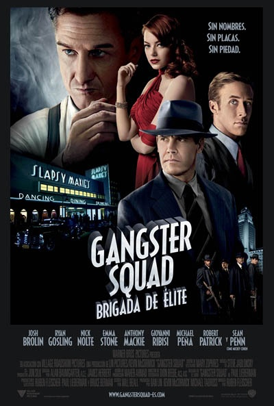 Cinemelodic: Crítica: GANGSTER SQUAD (2013): Film, Movie Posters, Ryan Gosling, Gangsters Squad, Picture-Black Posters, Squad 2013, The Angel, Sean Penn, Emma Stones