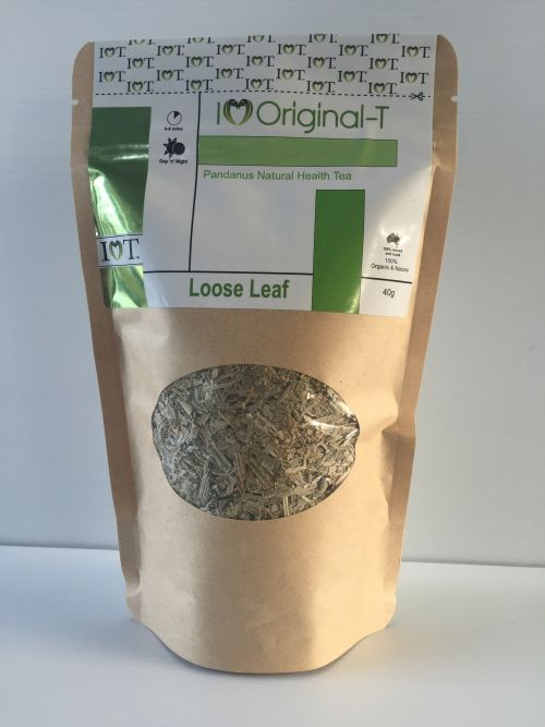 *Reduces total and LDL (Low-Density Lipoprotein; bad fat) cholesterol absorption. *Reduction in coronary heart disease risks. *Used as a diuretic. *A good source of Antioxidants. *Promotes revitalising & slenderising results. *100% Organic with Natural Pandanus. *Pesticide & herbicide free. *Caffeine free. *100% Australian owned and made.  $25.00