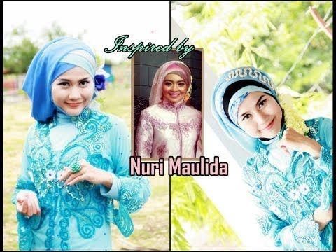 Tutorial Hijab Inspired by Nuri Maulida | Hijab Paris Cantik Untuk ...