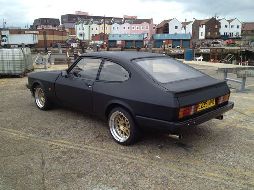 Ford Capri 2.8i Injection Special X Pack Black 1987 97k Full Leather Interior | eBay