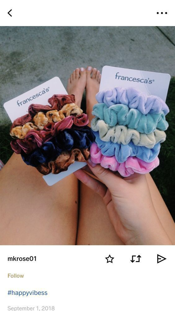 Best Stores to Buy Scrunchies & Scrunchie Hairstyles  Design & Roses