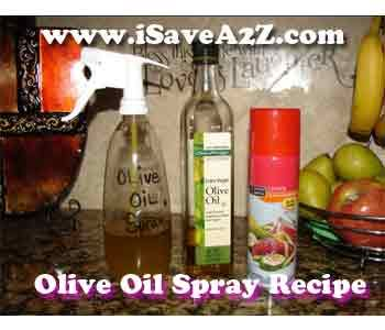 Make your own Cooking sprays for a fraction of the cost and they are Healthier too!