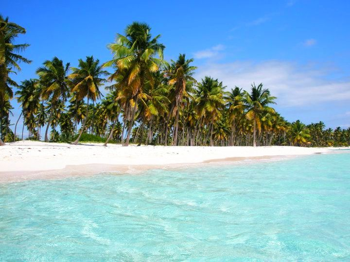Pláž Bayahibe, Bayahibe, Dominikánská republika – Krásné pláže
