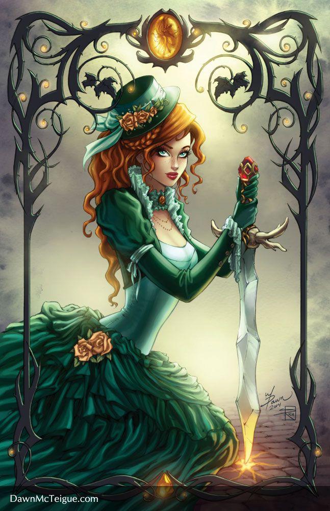 Theory of Magic: Selyara by Dawn-McTeigue.deviantart.com on @deviantART