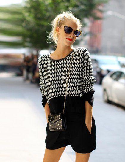 Poppy Delevingne wearing the CANDY clutch at NY fashion week #NYFW #POPPY