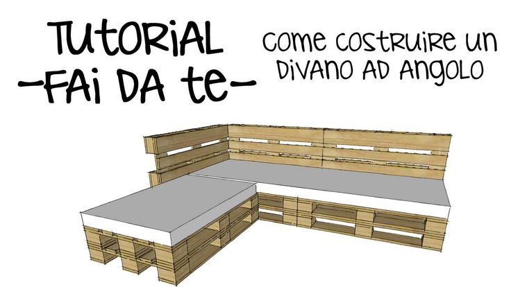 Tutorial fai da te! Come costruire un divano con i pallet! DIY PALLET https://www.youtube.com/watch?v=zryAf_Zc7lw #divanopallet #divano bancali #Pallets #Wood #Furniture #Wooden #DIY #HomeDecor #Packaging #Manufacturing #Machines #ISO9001 #Ideas #Garden #Machine #Home #LivingRoom #Sofa #Decor #Design #Table #Corner