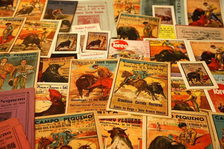 Lote de posters de touradas