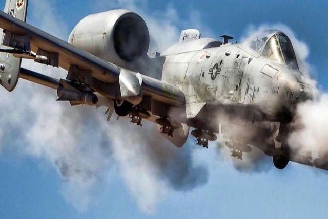 A-10 Warthog Unleashing hell