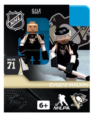 Pittsburgh Penguins Evgeni Malkin OYO NHL Hockey Mini Figure Lego New | eBay US $12.99