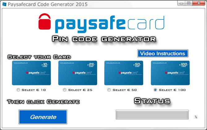 paysafecard pin codes