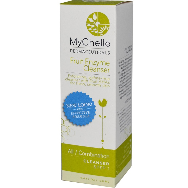 MyChelle Fruit Enzyme Cleanser.  Amazing stuff.