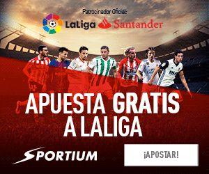 el forero jrvm y todos los bonos de deportes: Apuesta Gratis 50 euros a LaLiga en Sportium 1-4 d...