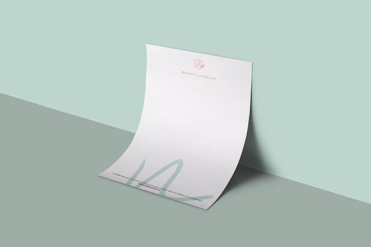 Briefpapier ontwerp #huisstijl #branding   OCHER
