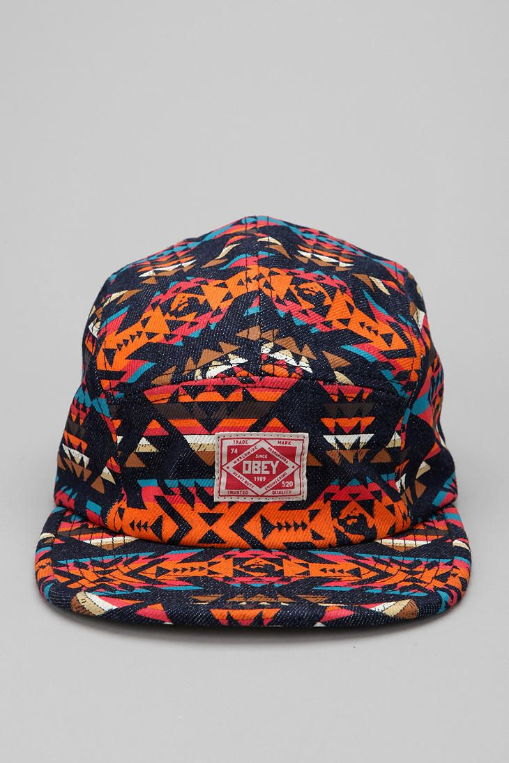 OBEY Trademark 5-Panel Cap #urbanoutfitters This hat makes me feel like one of the cool kids