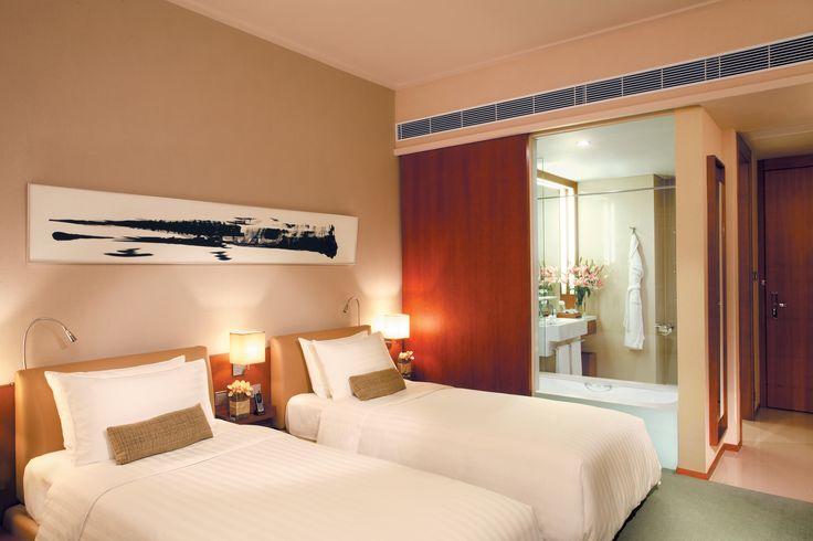 Standard Room - Twin Bed - Book Now on www.novotelcitygate.com/?utm_source=pinterest&utm_medium=photos&utm_campaign=pinterest
