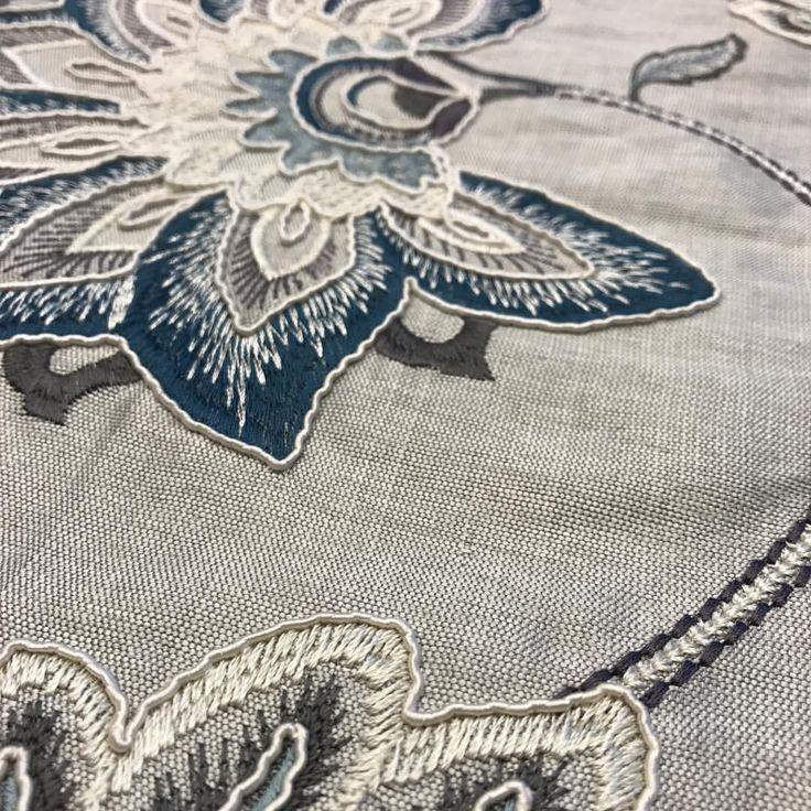 "137 Likes, 5 Comments - JF Fabrics (@jffabrics) on Instagram: ""Up Close   Soutache Embroidery   Carlisle 68 #new #jfstudioj #fabric #luxury #interiordesign"""