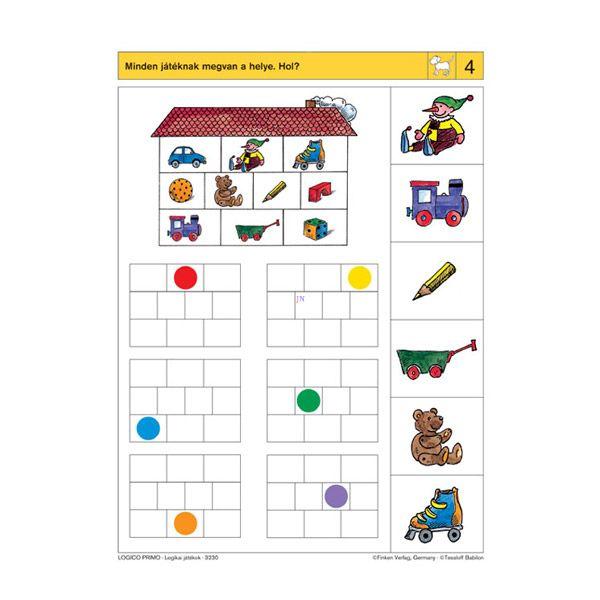 Logico Primo feladatkártyák - Logikai játékok - . kép