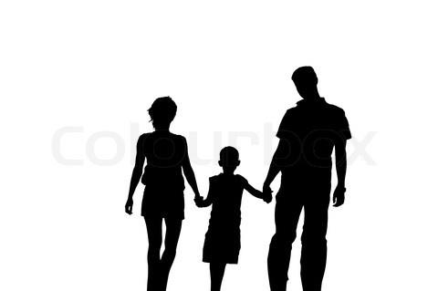 Tema: Familie  Googles billedresultat for http://www.colourbox.dk/preview/2281929-365910-silhuet-af-familie-paa-hvid-baggrund.jpg